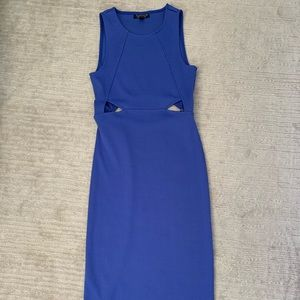Topshop pale purple knee-length dress